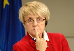 Press conference by Danuta Hübner